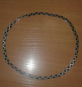 Серебро 925 пр.цепочка женская.плоское плетение.