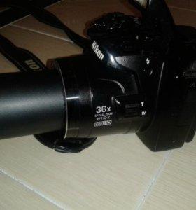 Продаю компактный фотоаппарат Nikon Coolpix P500