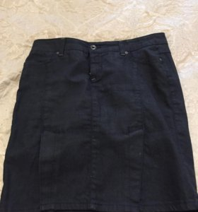 Юбка SISLEU, джинсовая