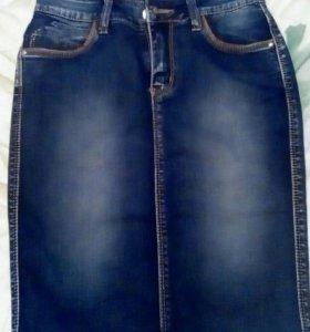 Юбка джинсовая совершенно новая