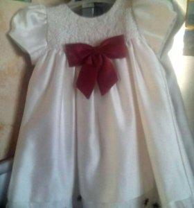 Нарядное платье 1,5-2 года