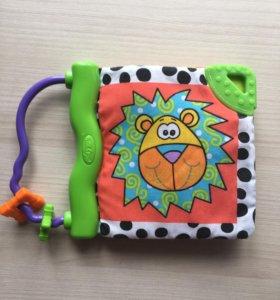 """Книжка-игрушка/прорезыватель Playgro """"Zany Zoo"""""""
