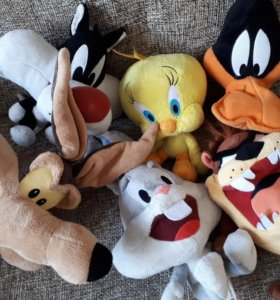 Коллекция игрушек луни тюнз