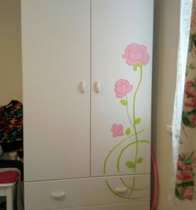 """Комплект детской мебели """"Роза"""", для девочки."""