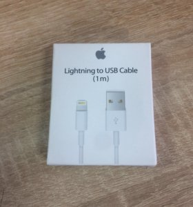 Кабель для Apple I-Phone Lightning/Usb Cable (1m)