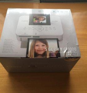 Новый принтер canon selphy cp1000