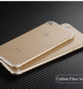 Карбоновые пленки для всех телефонов Apple IPhone