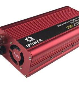 Автомобильный инвертор 2000w