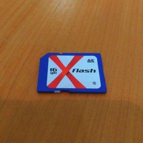 Флеш карта памяти 16Gb