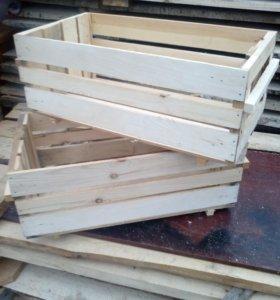 Ящик деревынный