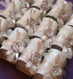 Свадебные аксессуары ( таросики, букеты )