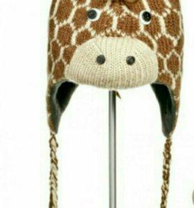 Шапка-жираф