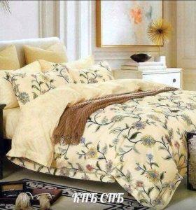 Комплект постельного белья (новое)