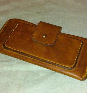 Кожаный чехол для телефона, планшета
