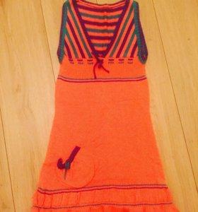 Платье трикотаж 40-42
