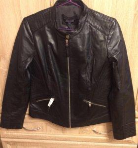 Продается женская кожаная куртка Tommy Hilfiger