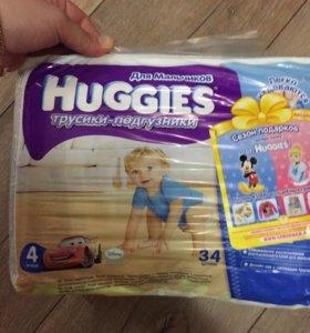 Huggies для мальчиков 4 Хаггис