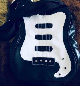 сумка в виде гитара