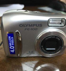 Фотоаппарат OLYMPUS FE-100.