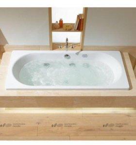 Стальная ванна Kaldewei Classic Duo 107 170х75 см
