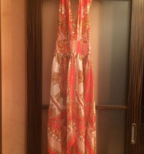 Luisa Spagnoli новое шёлковое платье 42