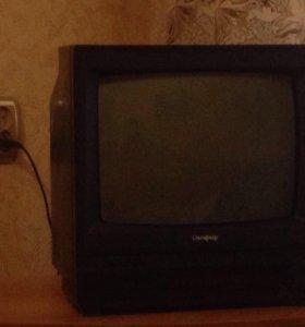 Телевизор Сапфир цветной