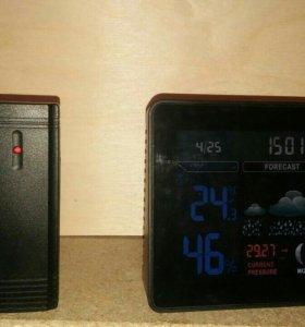 Часы, домашняя метеостанция