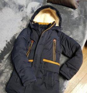 Куртка на мальчика б/у зима.
