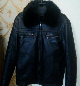 Кожаная куртка (зима-весна) 50-52 раз