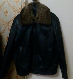 Кожаная куртка (54-56 раз) (зима-весна)