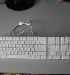 Apple клавиатура белая
