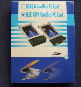 Адаптер IEEE 1394 CardBus PC Card