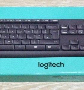 Беспроводной комплект Logitech(клавиатура+мышь)