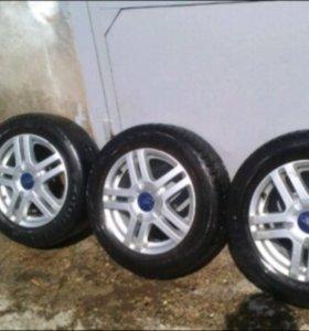Продам колеса R15 4x108