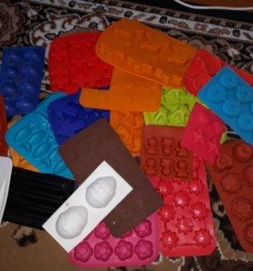 Формы силиконовые пакетом
