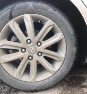 Продам Шины на Hyundai Elantra