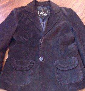 Замшевая куртка новая