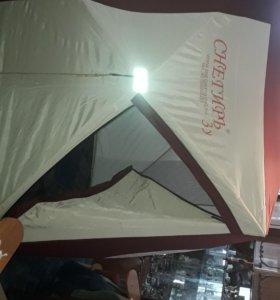 Снегирь 3у палатка