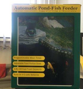 Автоматическая кормушка для прудовых рыб