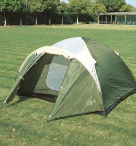 Четырехместная двухслойная палатка с тамбуром