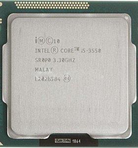 Игровой компьютер i5 3550+gtx1050ti+монитор
