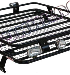 Багажник ВАЗ-2121 сварной с сеткой