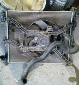Радиатор рено логан