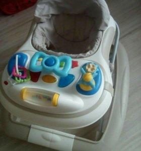 Детские ходунки-трансформер Happy Baby 3 в 1
