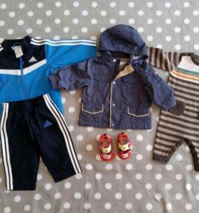 Пакет вещей на мальчика от 0 до 9 месяцев, 30 шт.