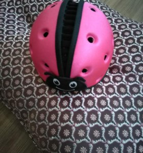 Ходунки и шлем для девочки