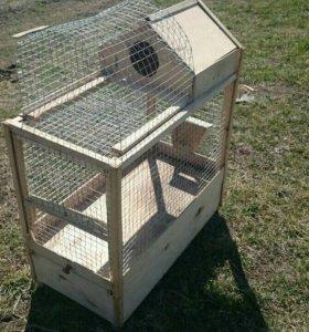 Клетка для кролика или попугая