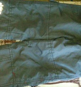 Непромокаемые брюки,на флисе