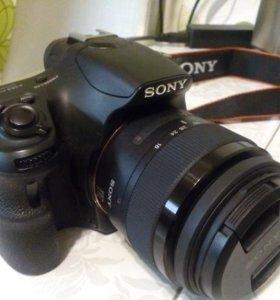 Зеркальная Sony Alpha SLT-A58K Kit 18-55mm(20,4МП