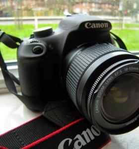Зеркалка Canon EOS 1200d Kit (18,7МП) гарантия!